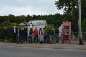 Voices from the Phone Box. Clarencefield Telephone Box, Dumfries and Galloway.