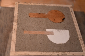 Sand casting early spoon tests… we'll maybe leave that one till next time...
